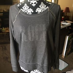 ⚡️Rock & Republic Gray Sweatshirt 🔥